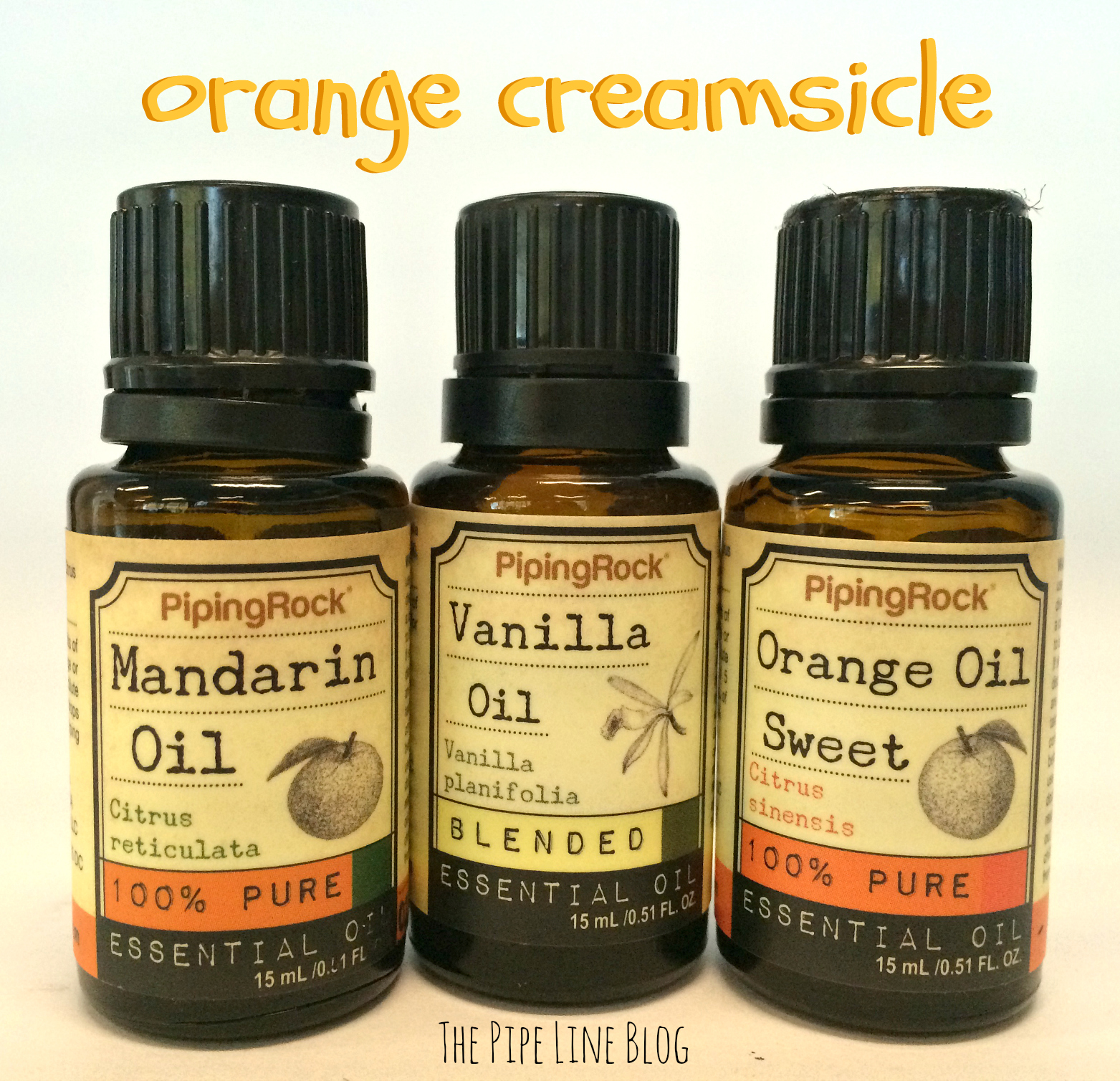 Piping Rock - The Pipe Line - Orange Creamsicle Aromatherapy Blend