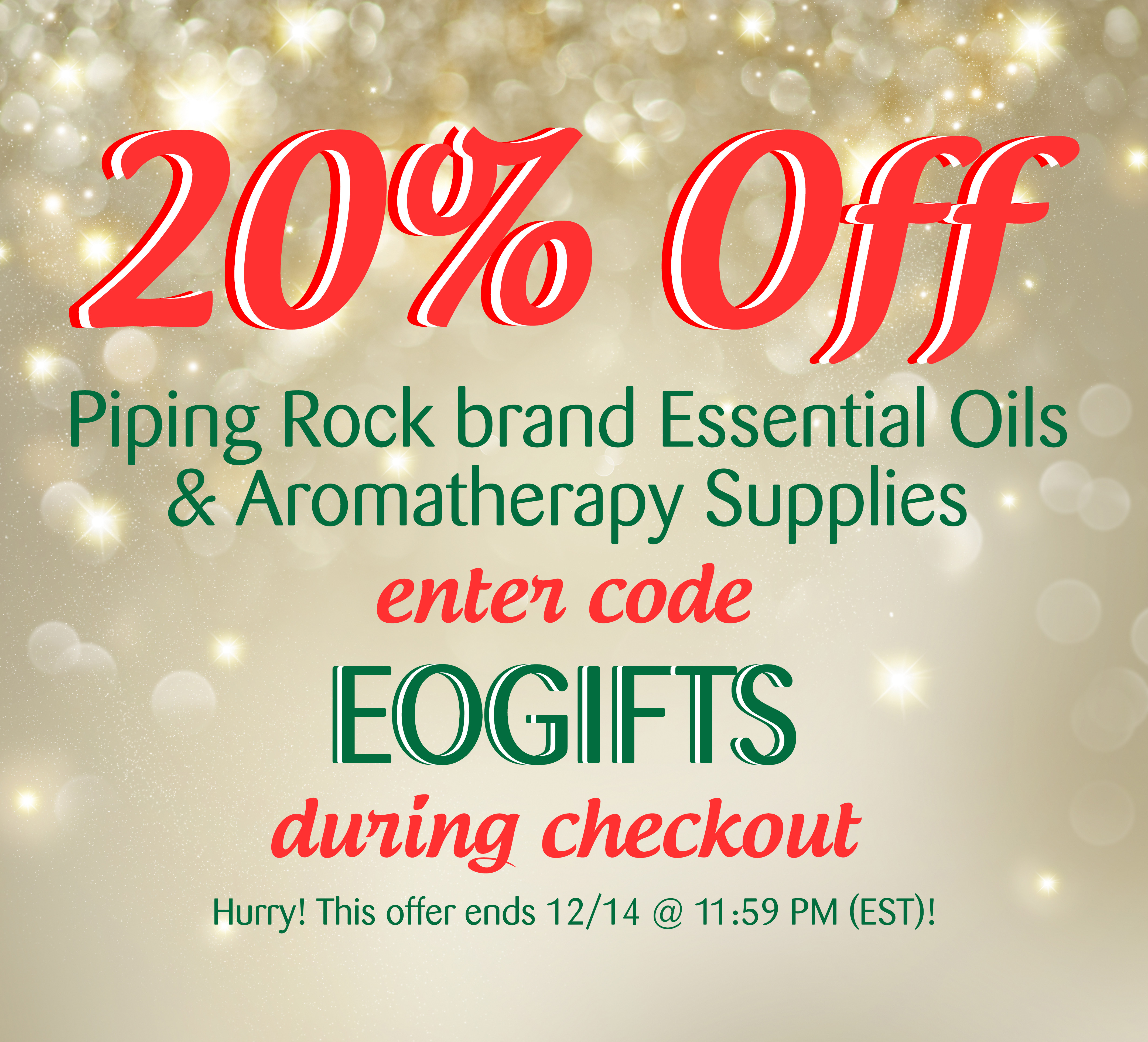 Piping Rock Essential Oil Sale