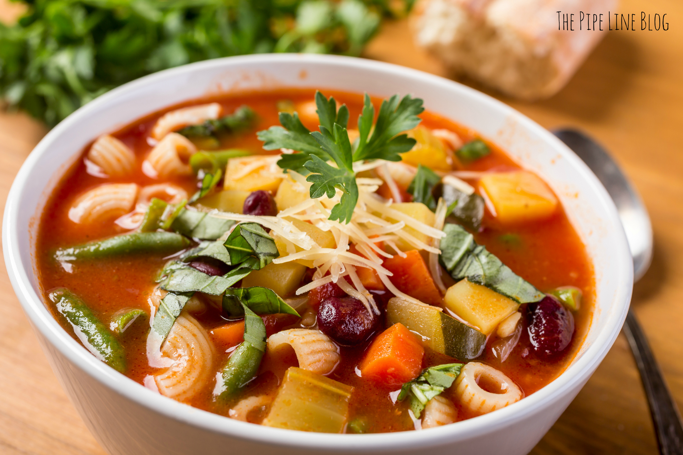 Piping Rock - The Pipe Line - Warm Up This Winter With Magical Vegan Minestrone