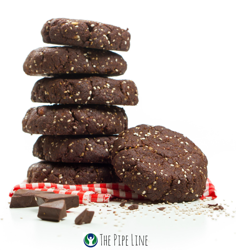 Piping Rock - The Pipe Line - Chia Banana Date Cookies - Gluten Free