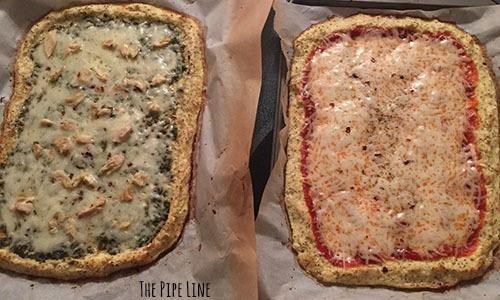 cauliflower pizzas