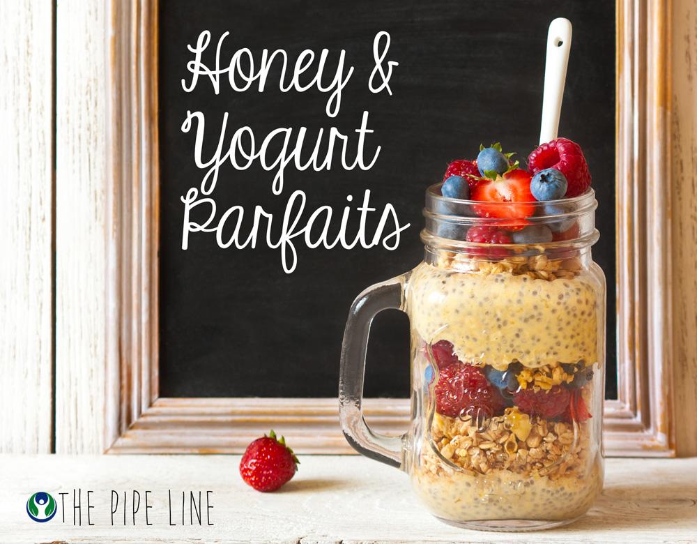 Piping Rock - The Pipe Line Blog - Honey Yogurt Parfait - Recipe