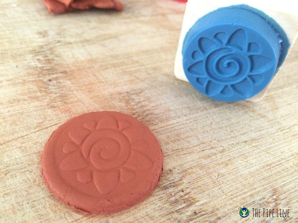 Piping Rock - The Pipe Line - DIY Aromatherapy Essential Oils Clay Pendant Jewelry