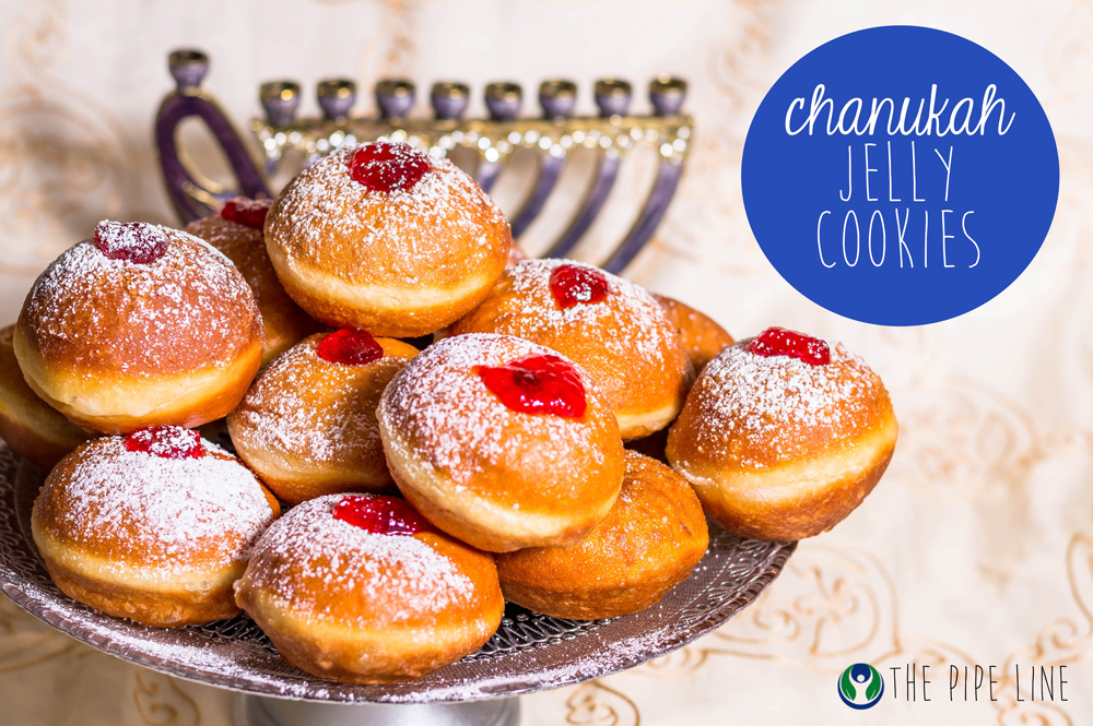 Piping Rock - The Pipe Line - Recipe - Chanukah Jelly Cookies