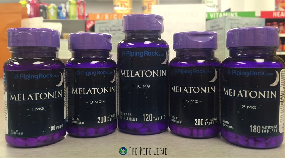 Piping Rock Melatonin Supplements