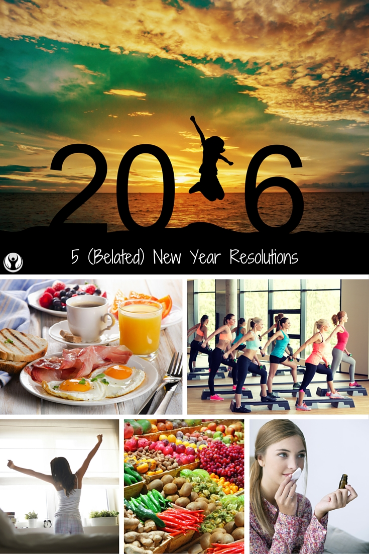 5 (Belated) New Year Resolutions