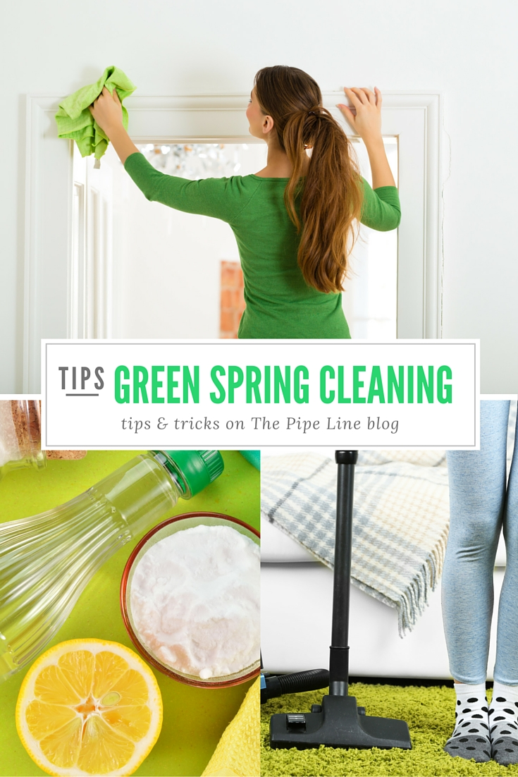 Piping Rock - The Pipe Line Blog - Green Tips for Spring Cleaning