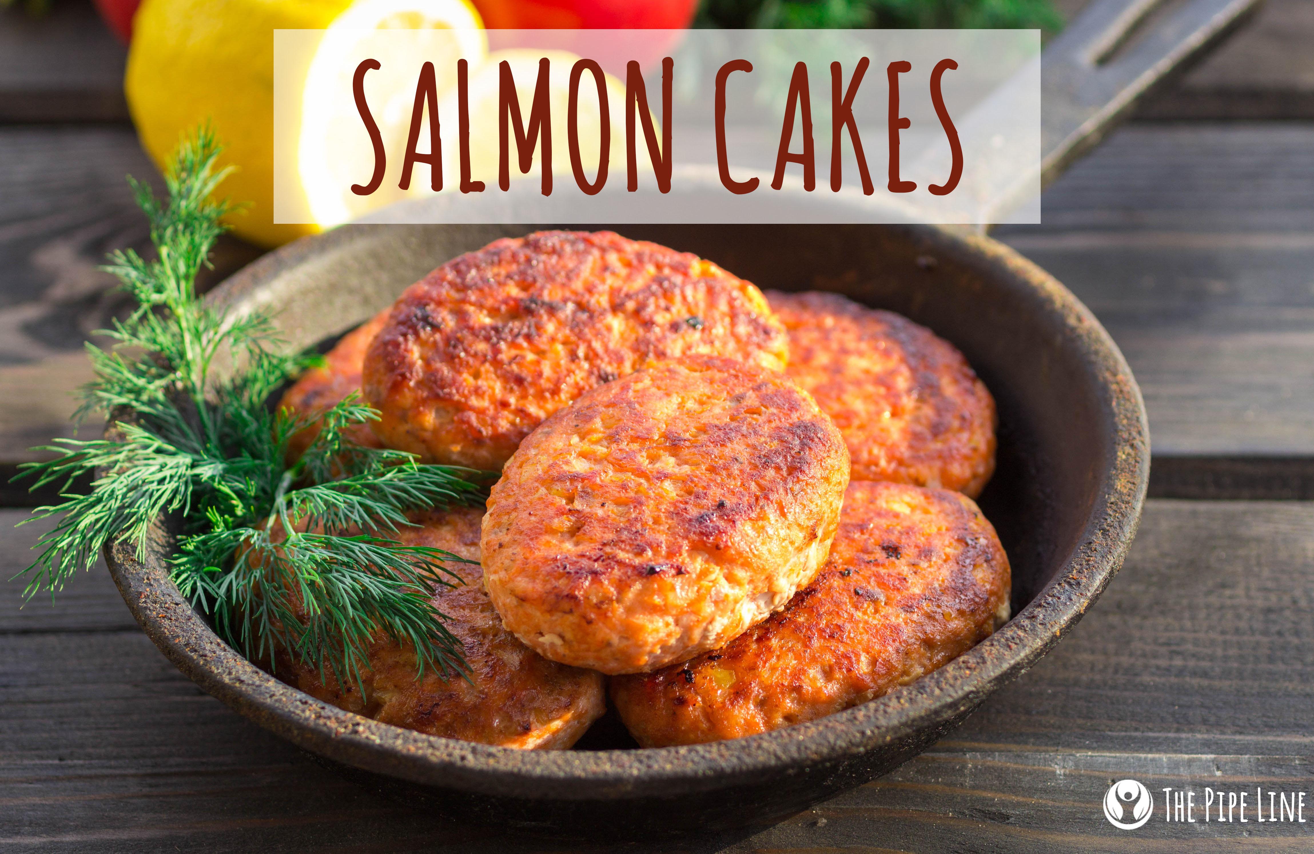 Salmon Cakes With Dill Aioli