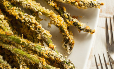 Piping Rock - The Pipe Line - Recipe - Baked Asparagus with Garlic Aioli