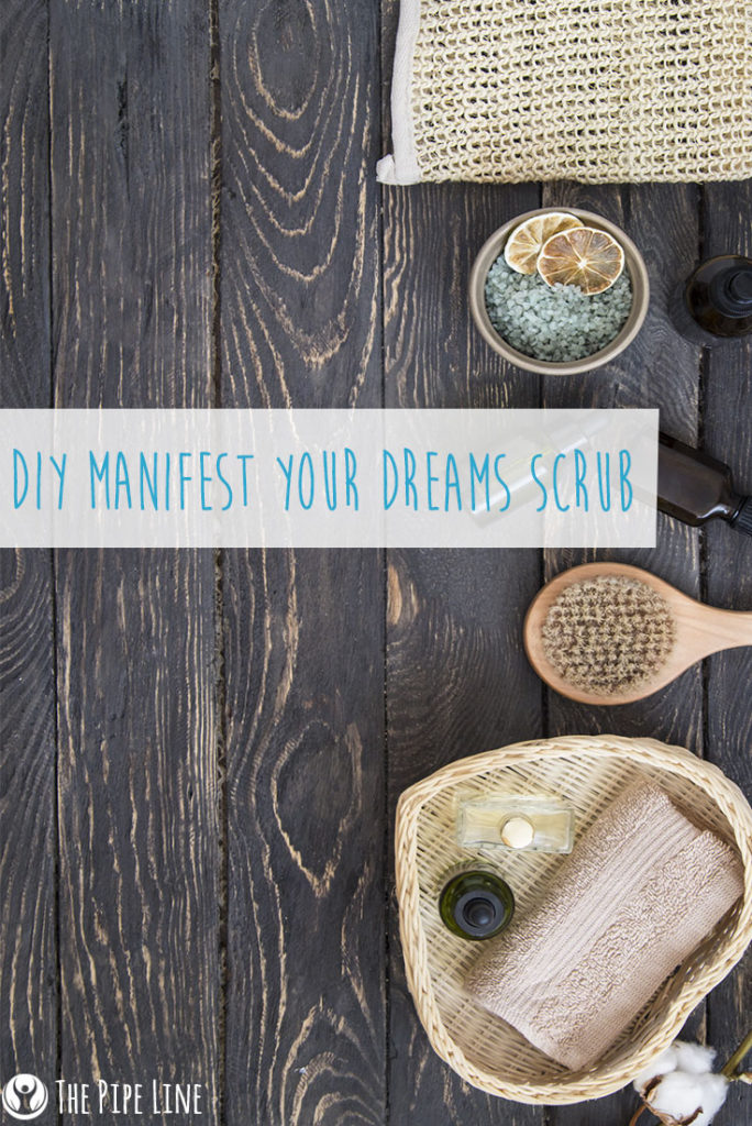 DIY Manifest Dreams Scrub