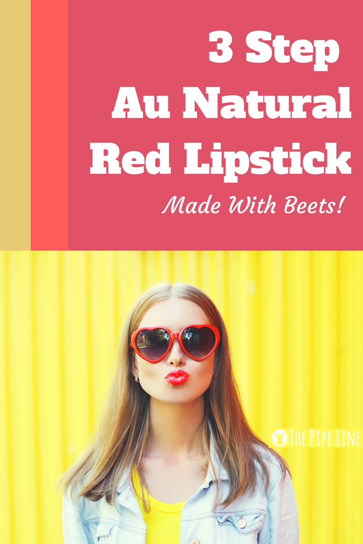 how to make beet lipstick