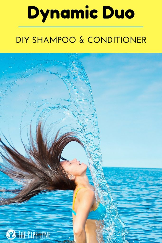 DIY Shampoo and Conditioner Fo...