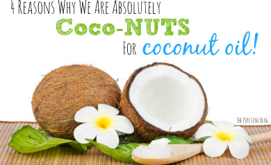 4 Reasons Why We Are Absolutely CocoNUTS for Coconut Oil!