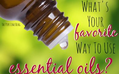 What's your favorite way to use essential oils?