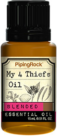 Piping Rock My 4 Thiefs Essential Oil Aromatherapy Blend