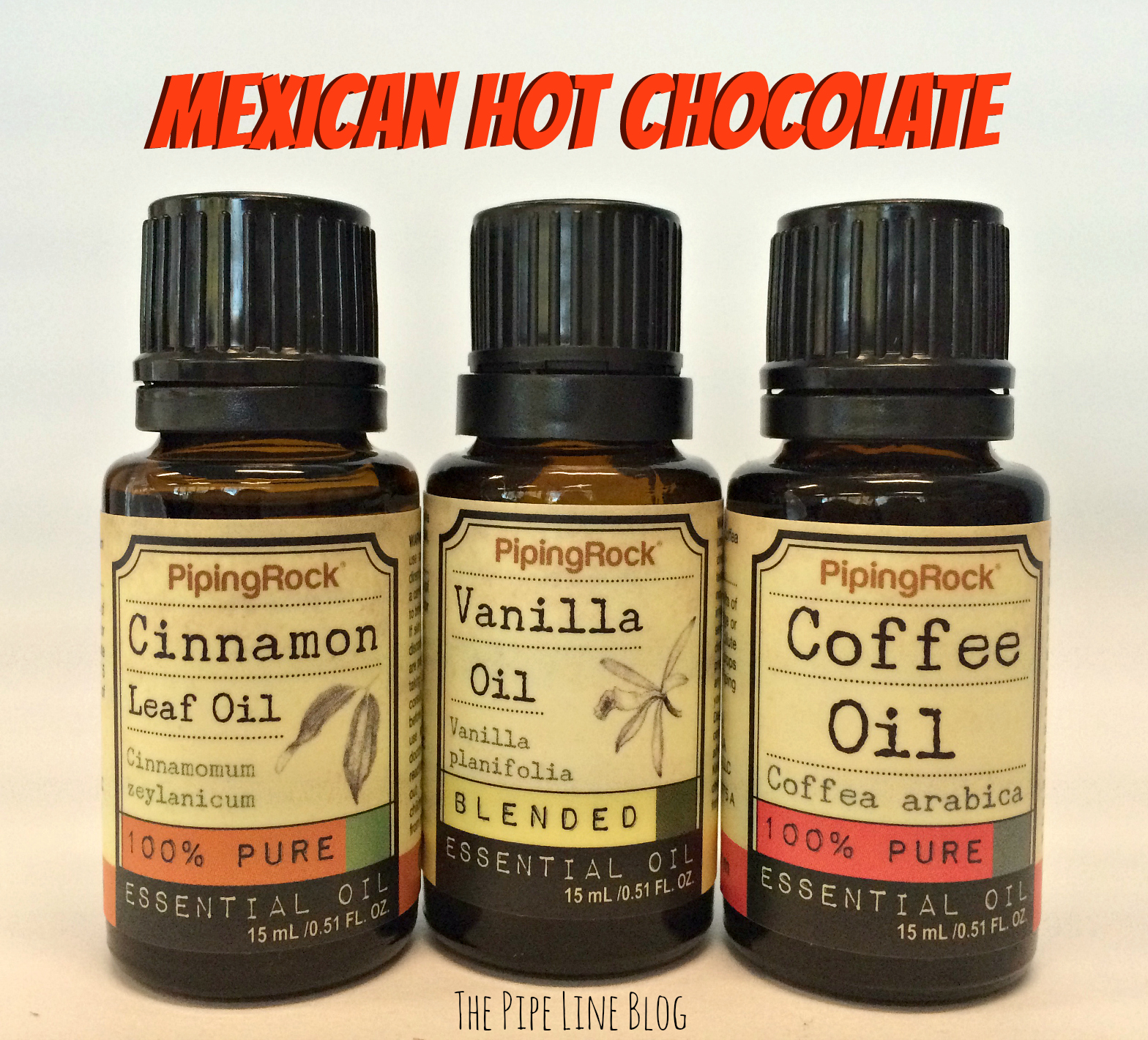 Piping Rock - The Pipe Line - Mexican Hot Chocolate Aromatherapy Recipe