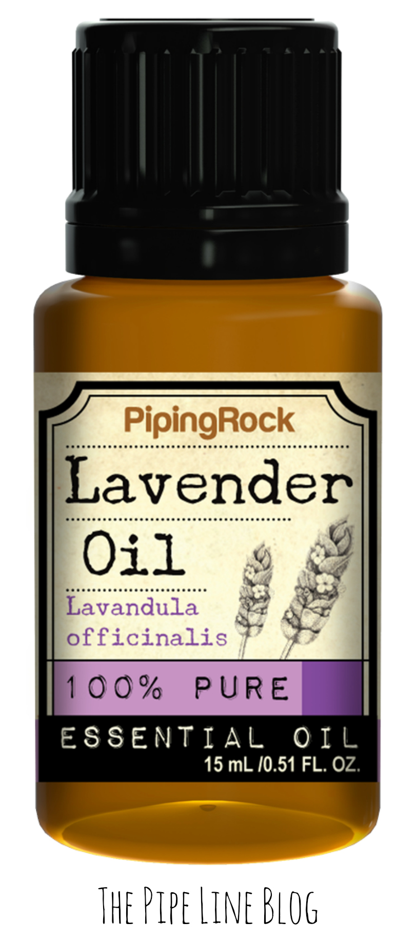Piping Rock - The Pipe Line - Lavender 100% Pure Essential Oil