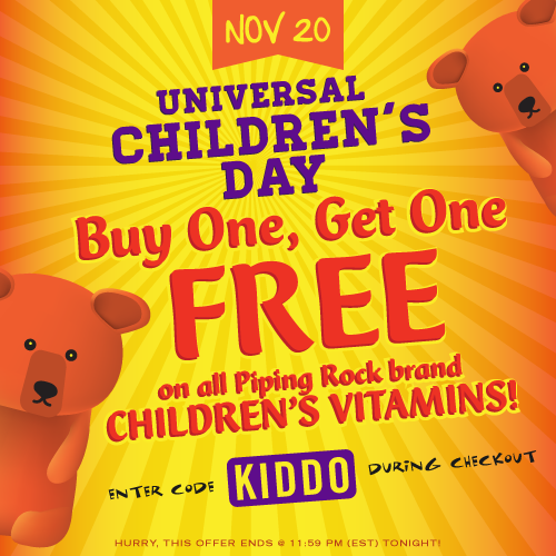 Piping Rock - The Pipe Line - Universal Children's Day BOGO Free Sale