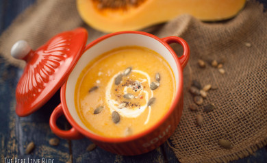 Piping Rock - The Pipe Line - Butternut Squash Soup Recipe Thanksgiving Appetizer
