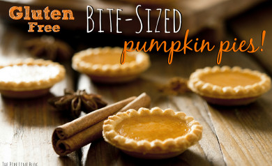 Piping Rock - The Pipe Line - Gluten-Free Bite Sized Pumpkin Pies!