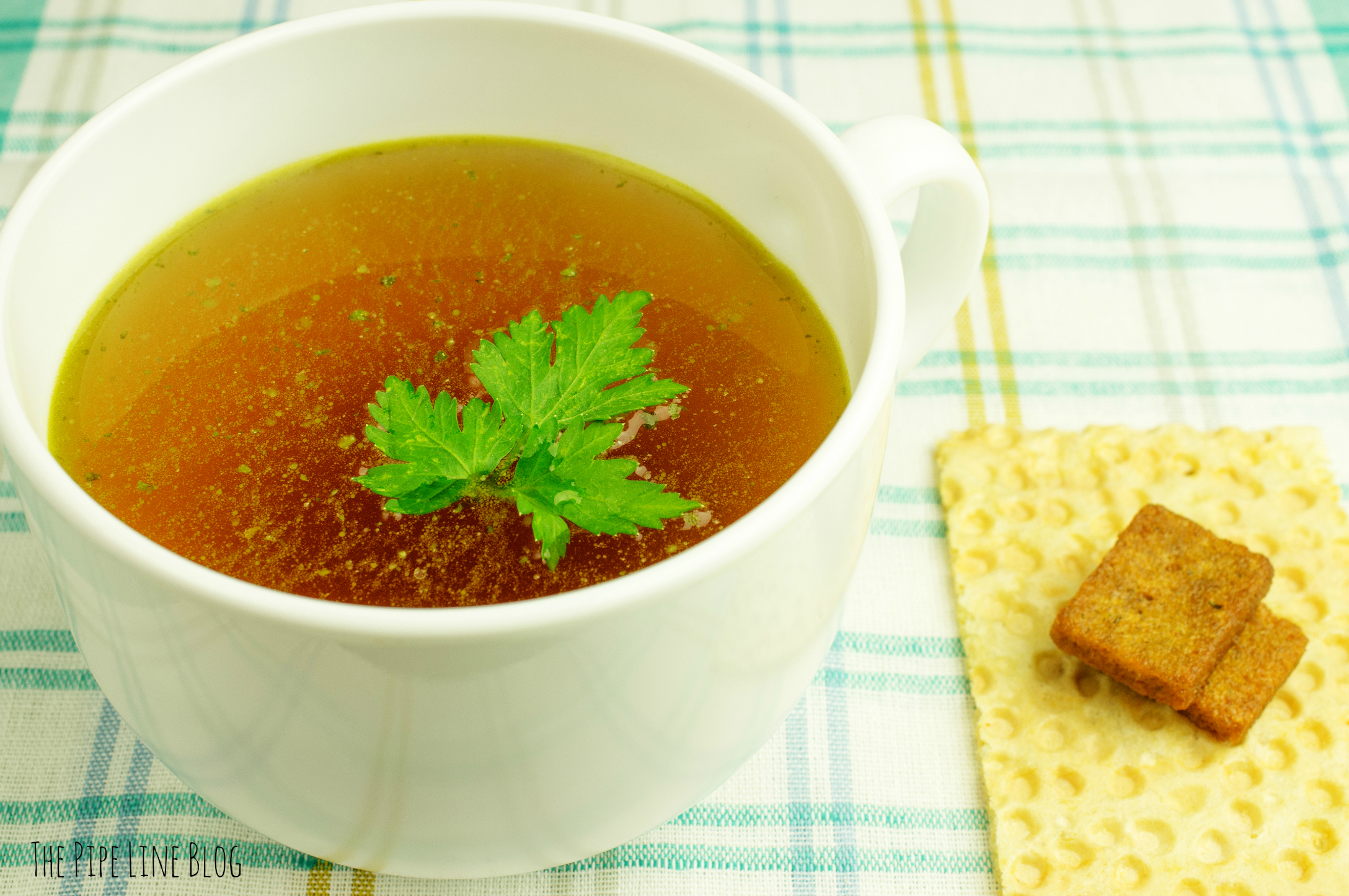The Pipe Line BONE BROTH SOUP: A DELICIOUS NEW HEALTH ...
