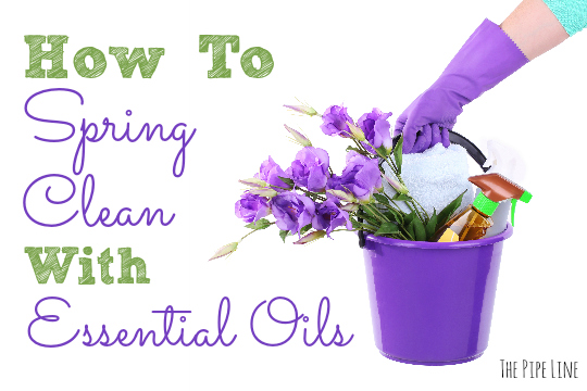 Spring Cleaning with Essential...