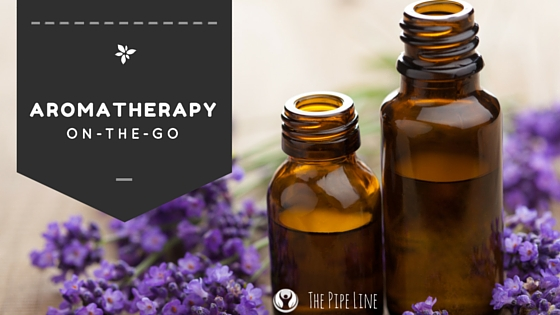 Enjoy Aromatherapy on-the-go..
