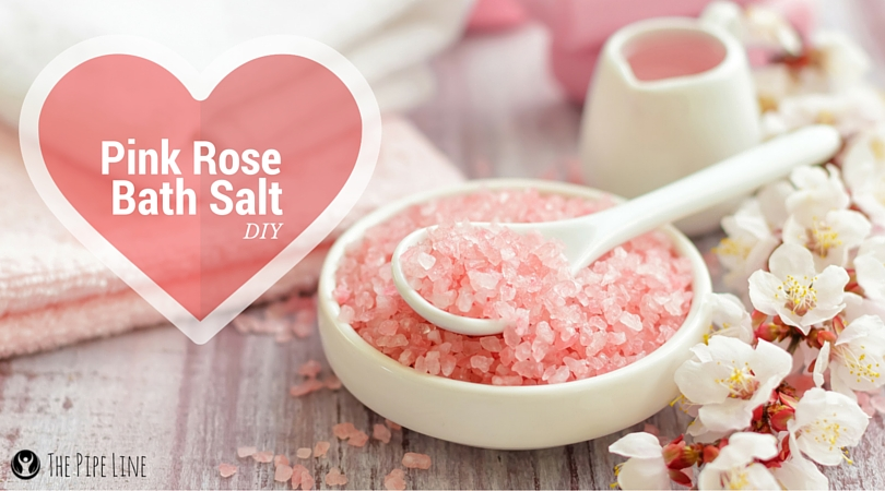DIY PINK ROSE BATH SALTS #Pipi...