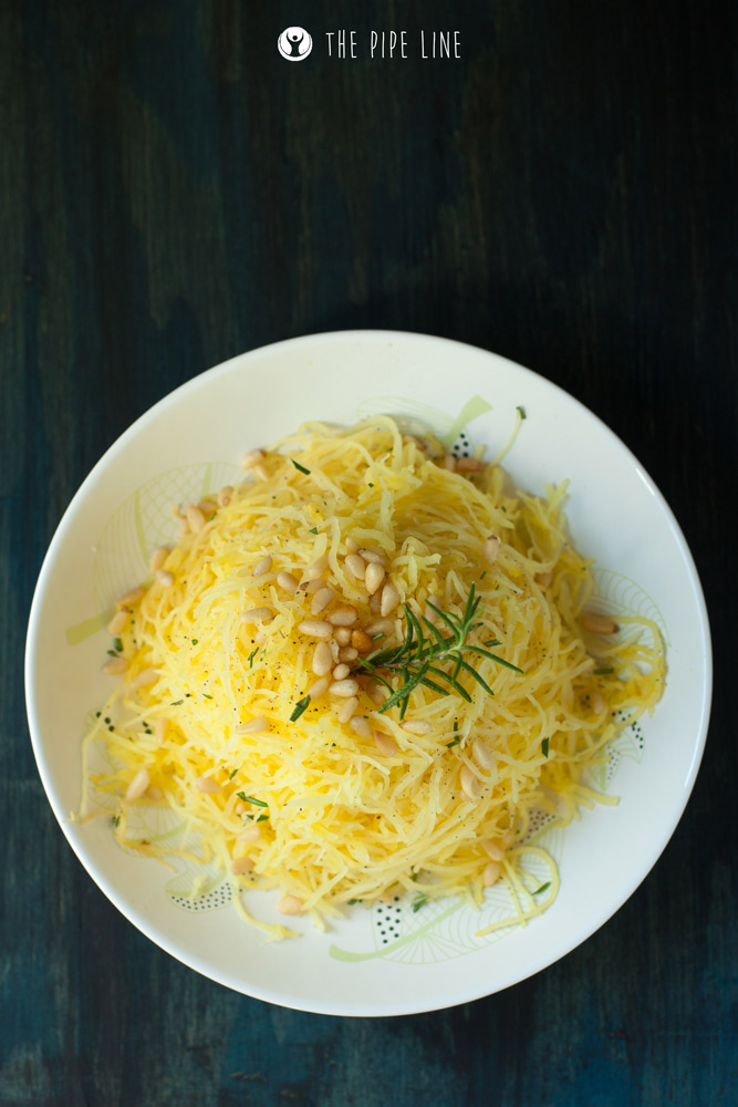 Piping Rock - The Pipe Line Blog - Healthy Recipe - Spaghetti Squash Mac & Cheese