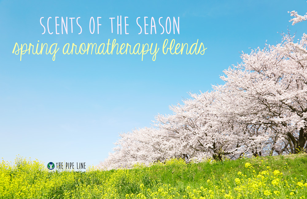 Piping Rock - The Pipe Line Blog - Scents of the Season Spring Aromatherapy Blends - Essential Oils