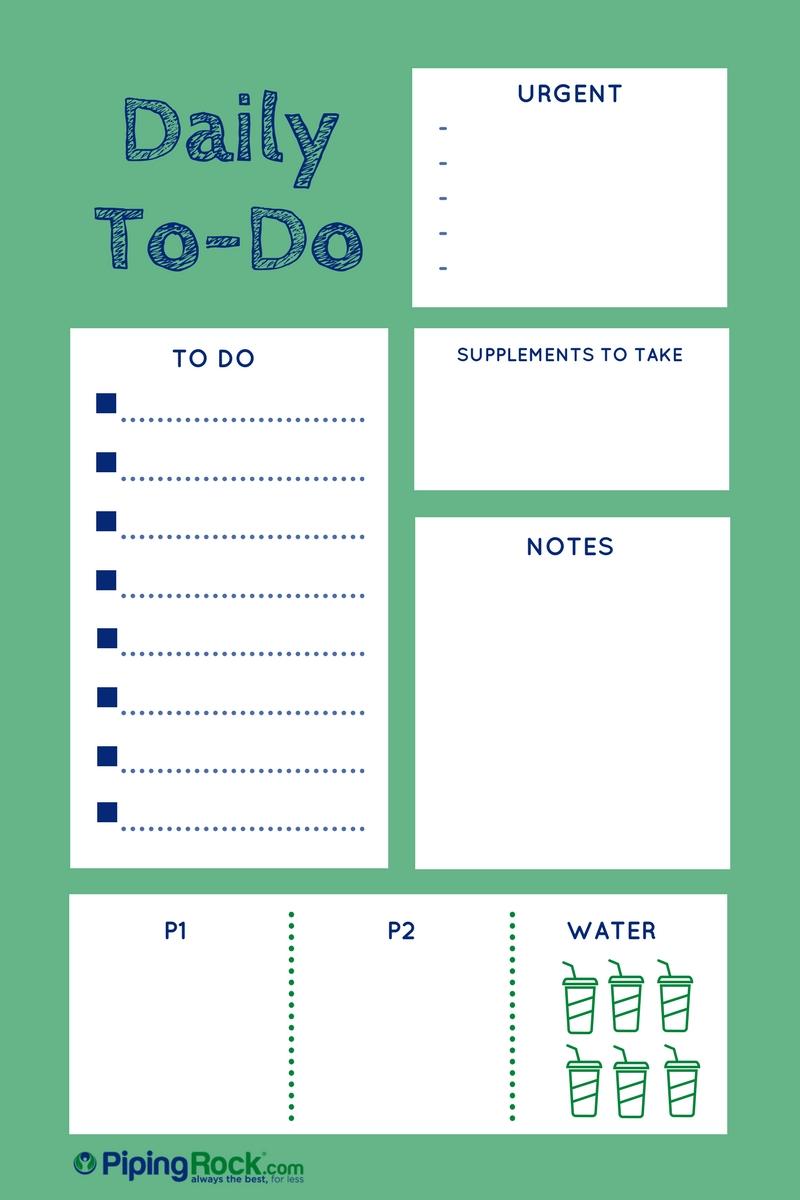Blog Post on To-Do Lists- 3.13.2017