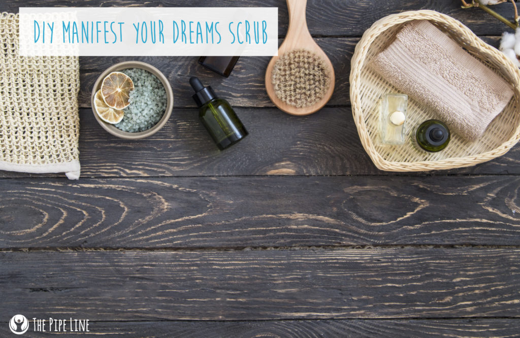 DIY Manifest Dreams Scrub