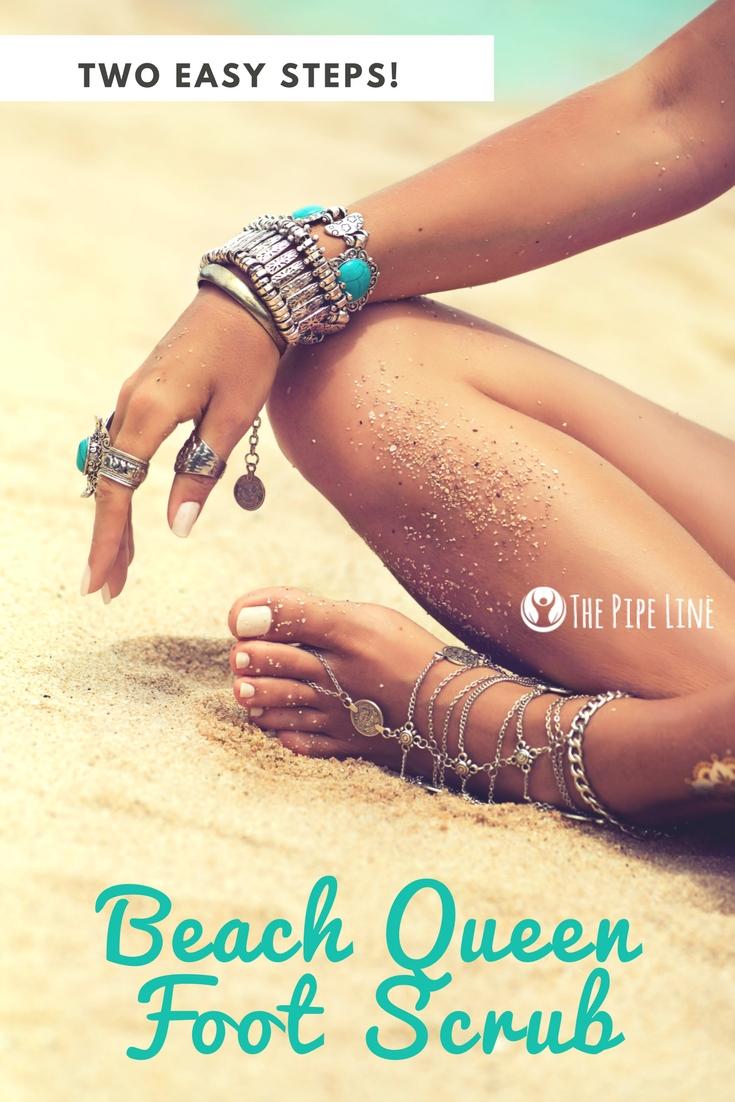 beach queen foot scrub diy blog- 5.16