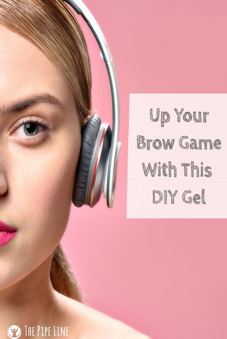 diy eyebrow gel
