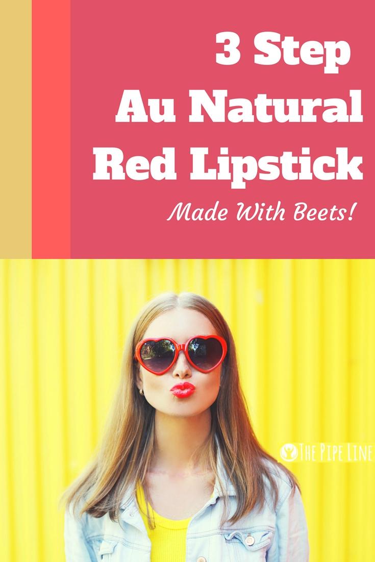 how to make beet lipstick