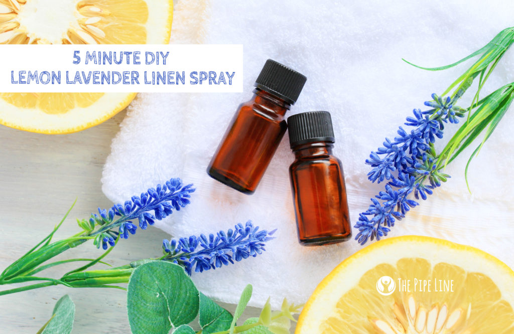 essential oils linen spray