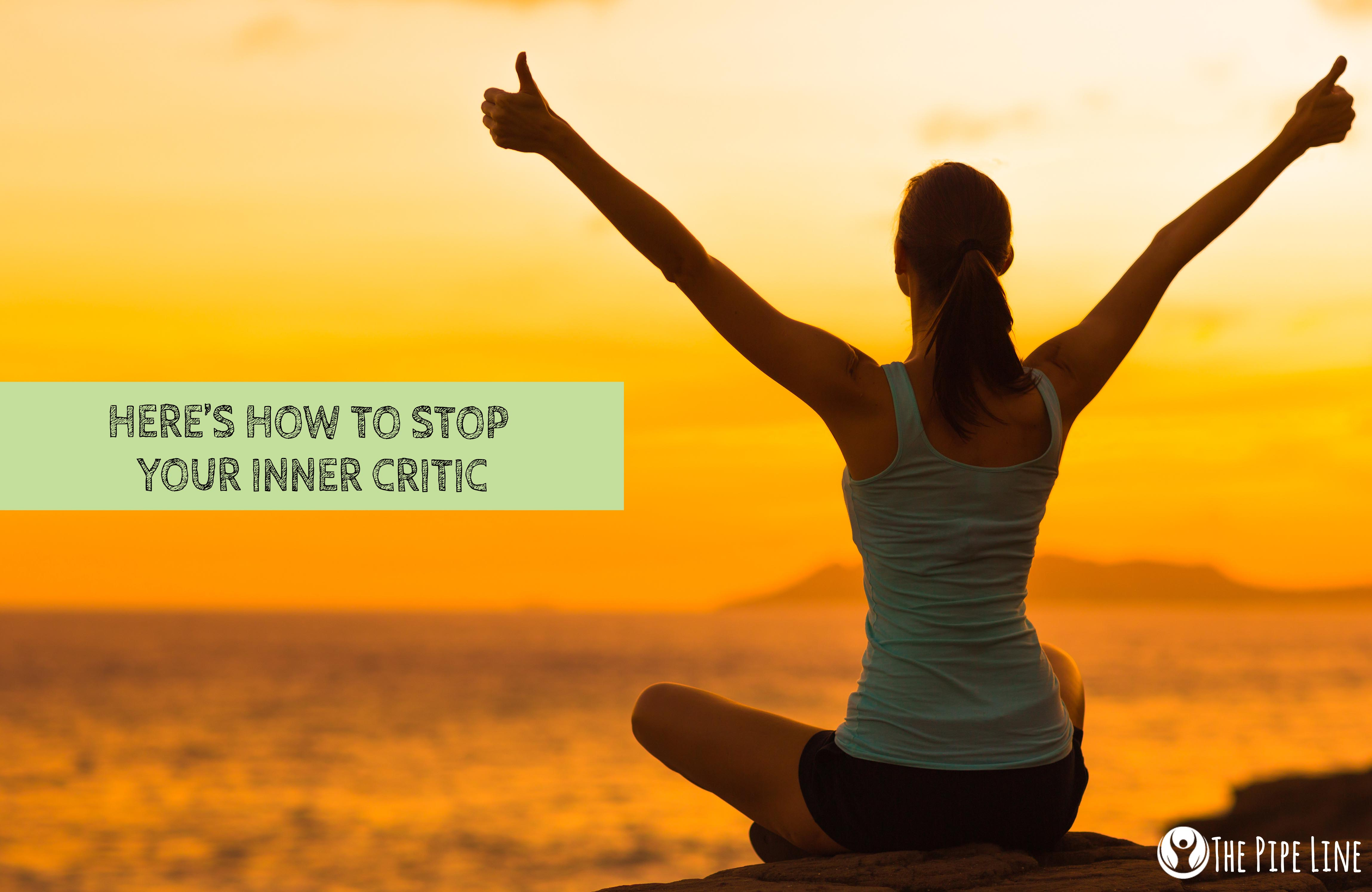 inner critic A little self-criticism is a good thing, but too much can lead to self-doubt, stress, and even depression here's how to keep it in check.