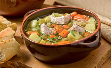 Leftover Turkey Soup