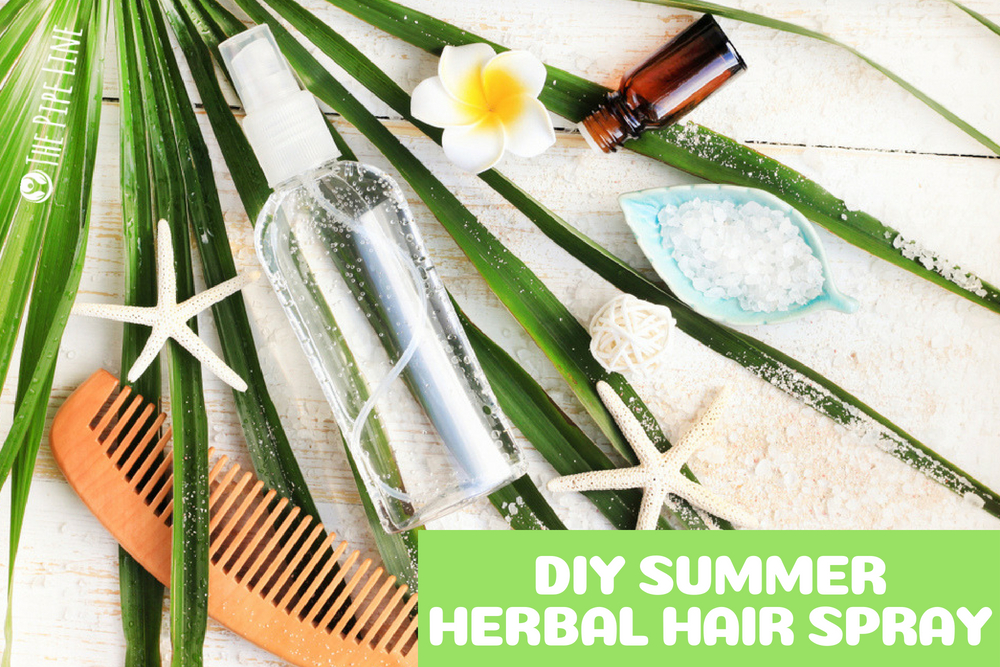 Herbal Hair Spray
