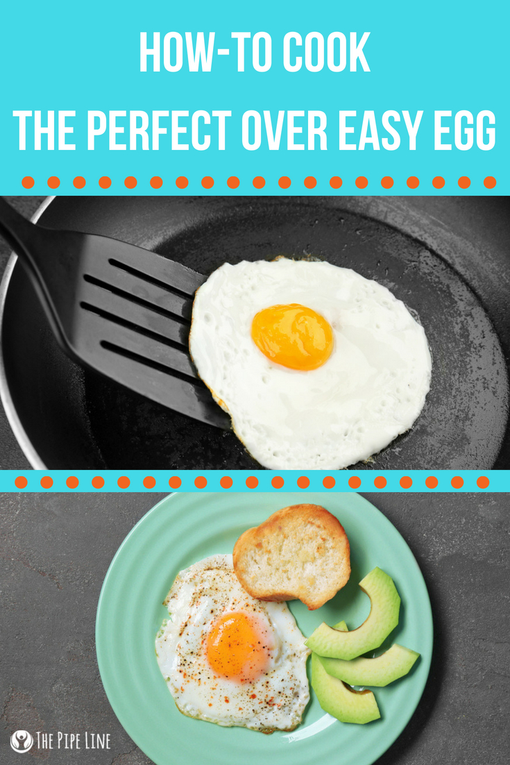 Perfect Over Easy Egg