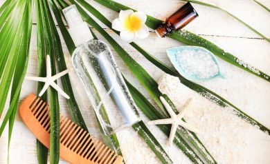 DIY Herbal Hair Spray