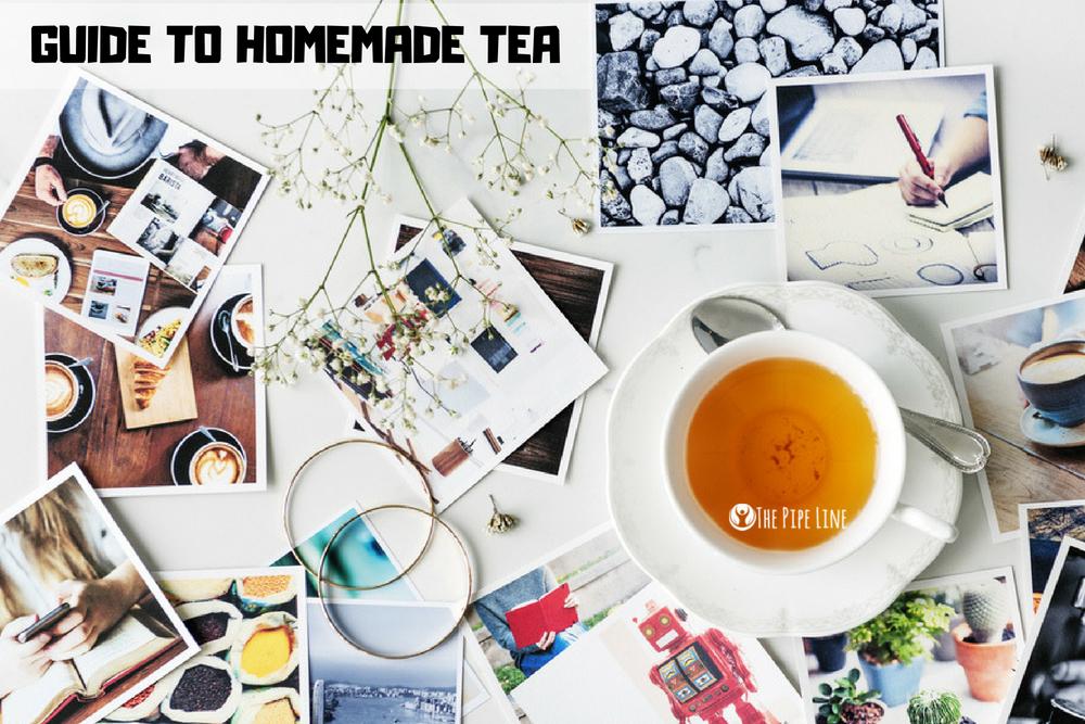 4 Homemade Teas