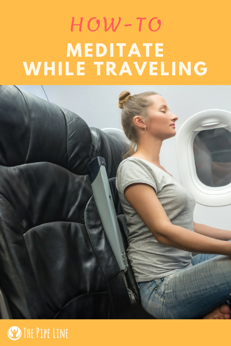 meditate while traveling