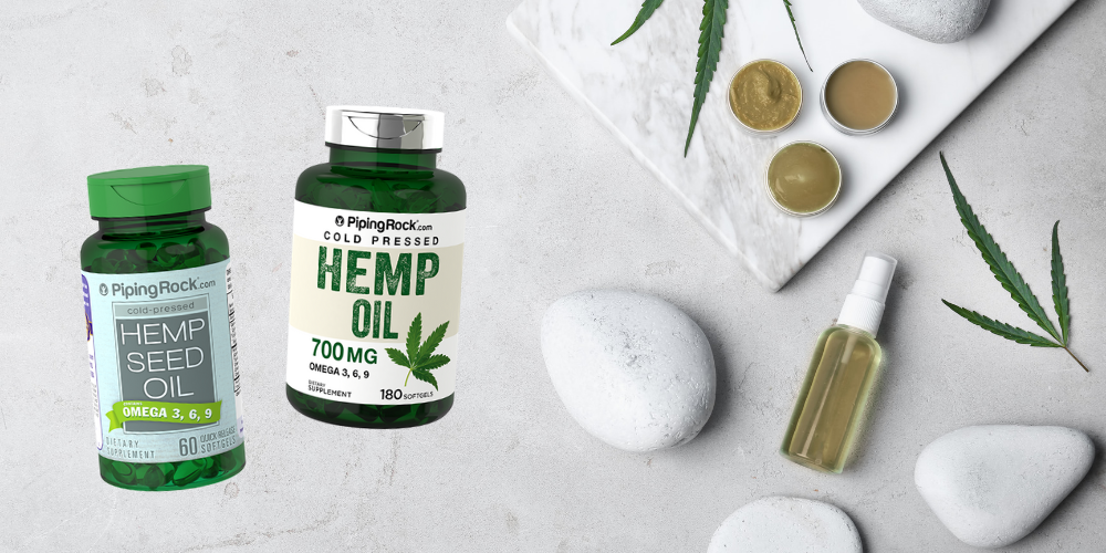 Piping Rock's Hemp Seed Oil Supplements